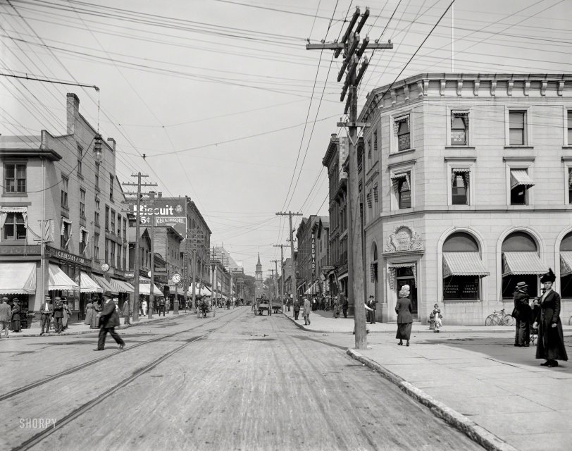 Bustling Burlington: 1911