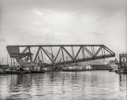 Cuyahoga Lift Bridge: 1910