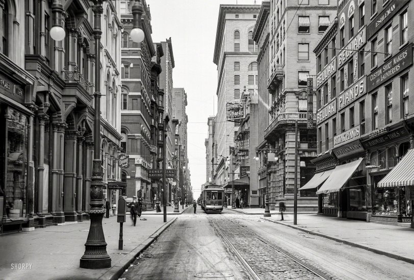 Chestnut Street: 1910