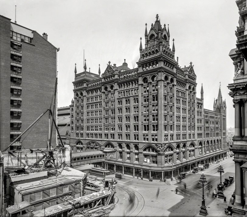 Rail-Rover Crossing: 1905