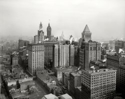 Higher Lower Manhattan: 1912