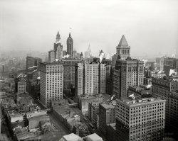 Higher Lower Manhattan: 1912