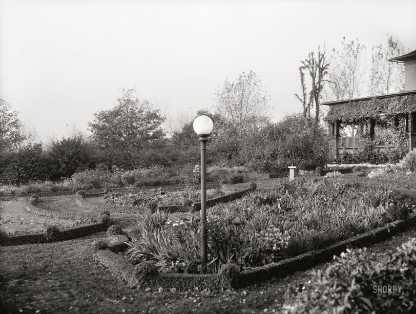 Modern Garden: 1910