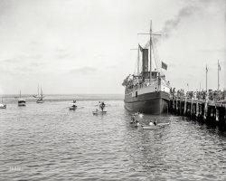 S.S. Cabrillo: 1910