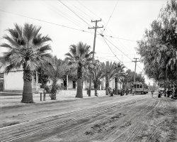 Mission San Gabriel: 1912