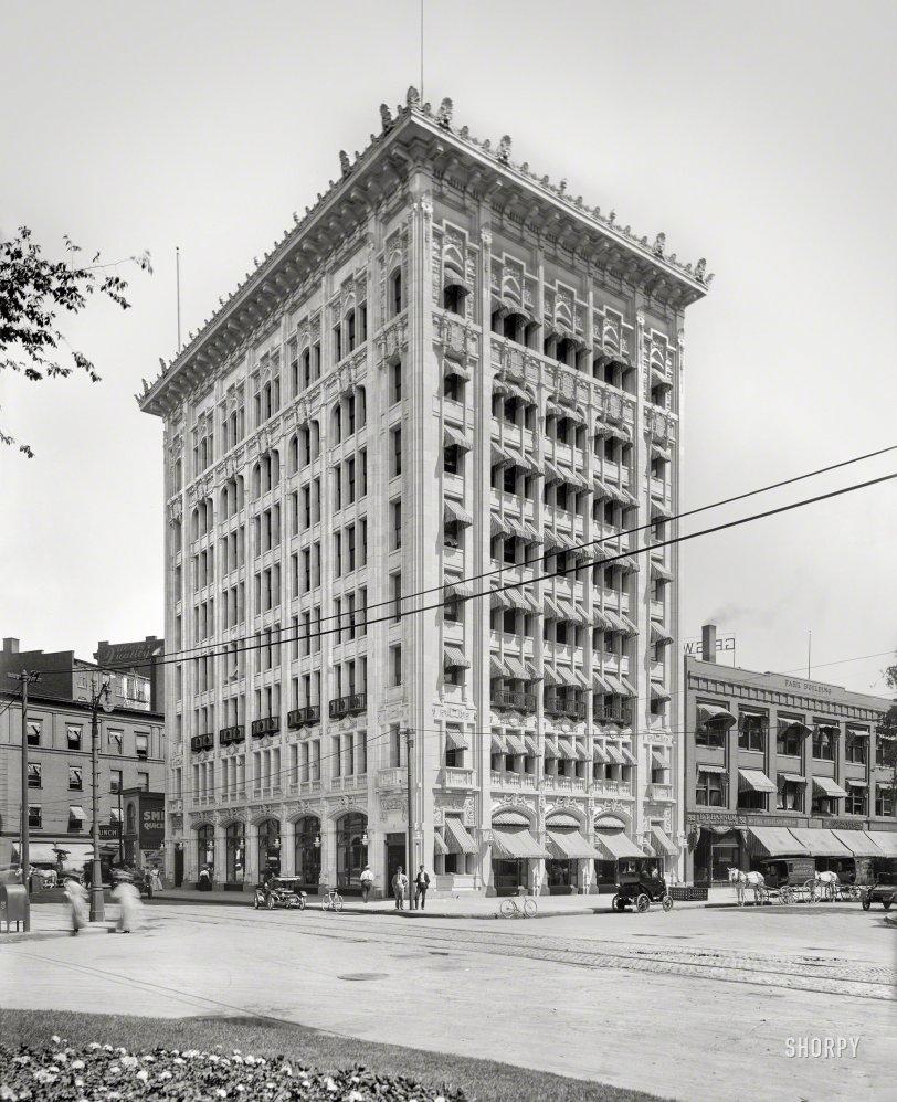 Detroit City Gas: 1908