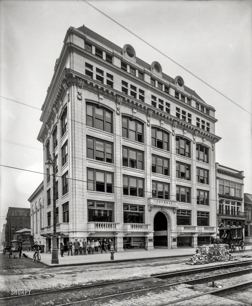 Detroit Newsies: 1905