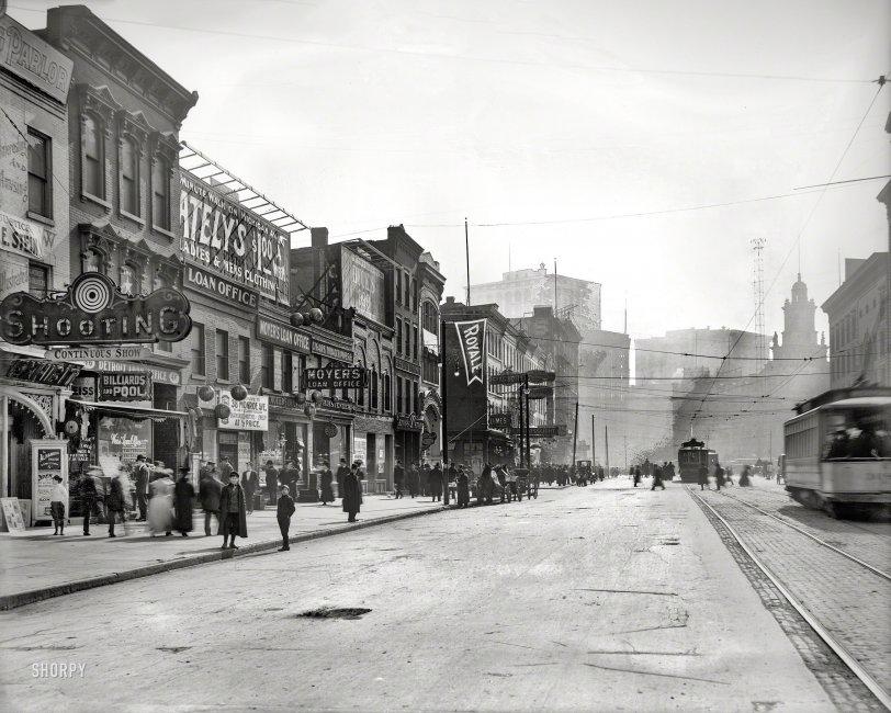 Downscale Detroit: 1908