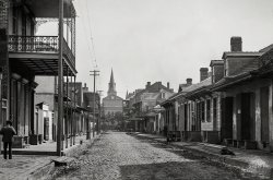 Orleans Street: 1890