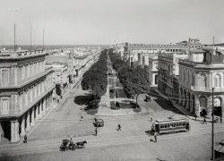 Paseo del Prado: 1904