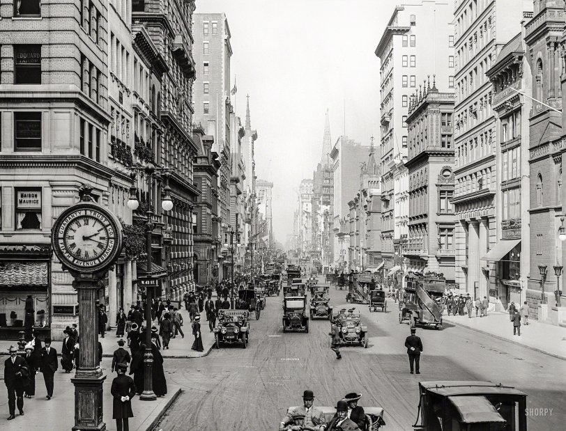 Fifth Avenue: 1911