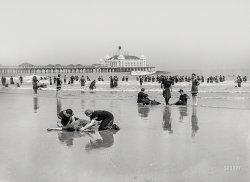 Buried at Seashore: 1905