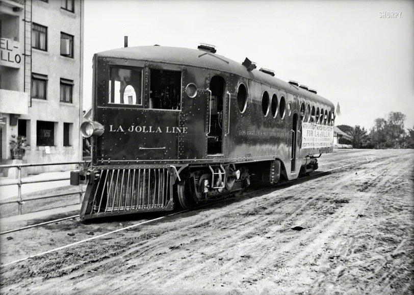 La Jolla Line: 1910