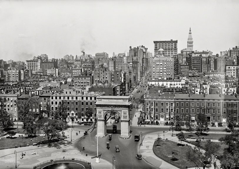 Washington Square: 1921