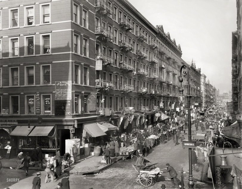 The Ghetto: 1909