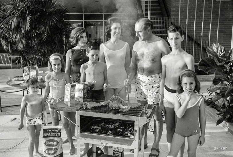 Family Cookout: 1963
