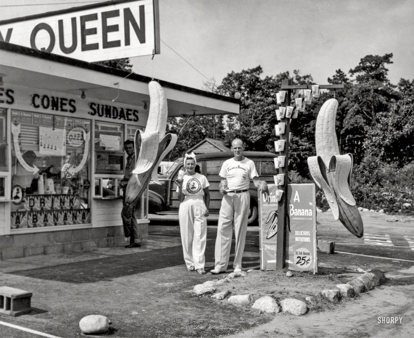 Drink a Banana: 1950
