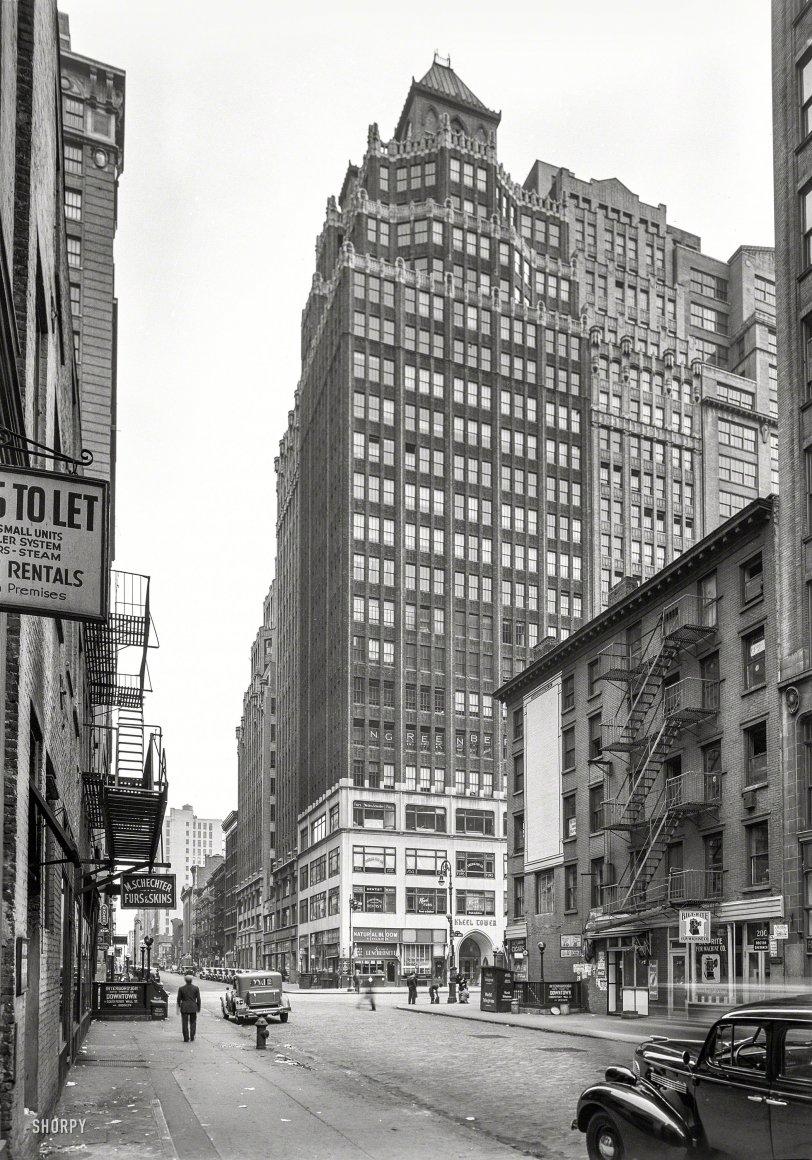 Kheel Tower: 1939