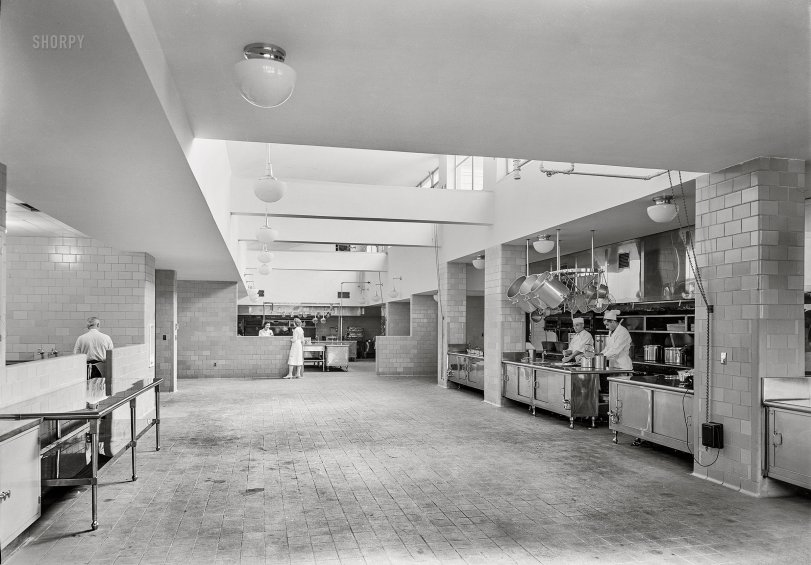 Sanatorium Kitchen: 1941