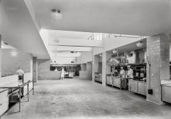 Sanatorium Kitchen: 1941