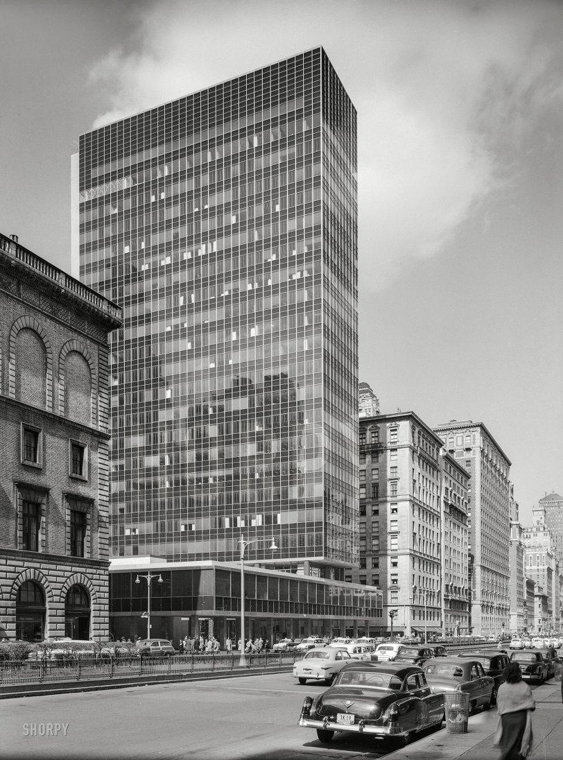 Diagram Lever House New York 1952