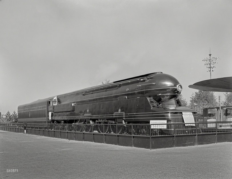 Locomotive of Tomorrow: 1939
