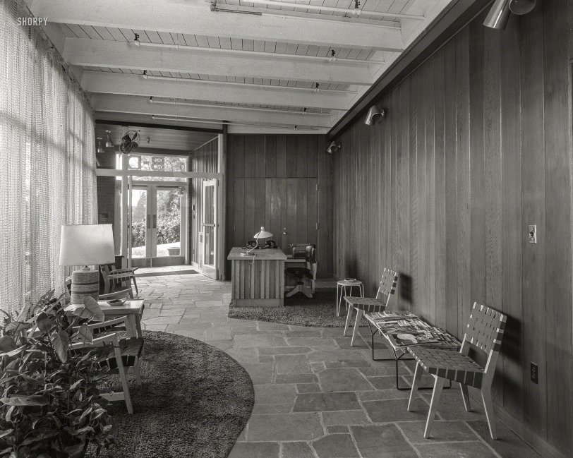 Executive Patio: 1953