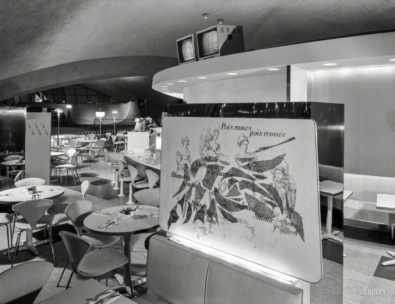 TWA Coffee Shop: 1962