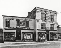 Hyattsville Hardware: 1940
