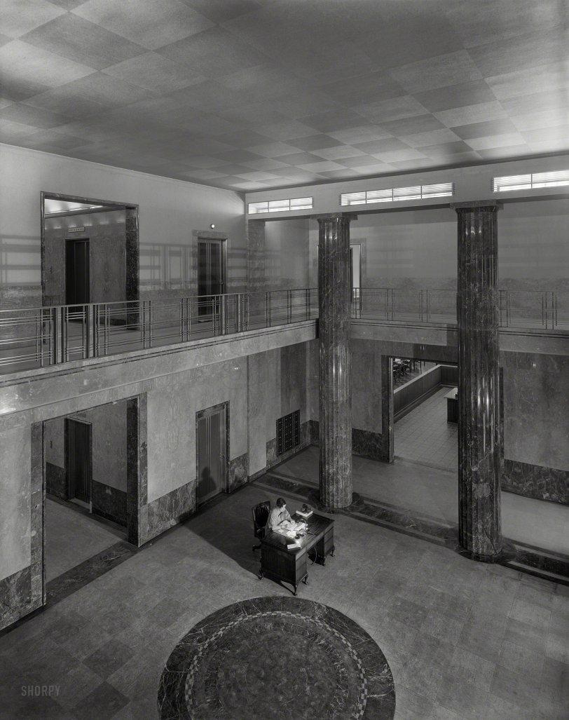 The Insurance Lobby: 1937