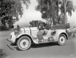 Desert Waterbag: 1923