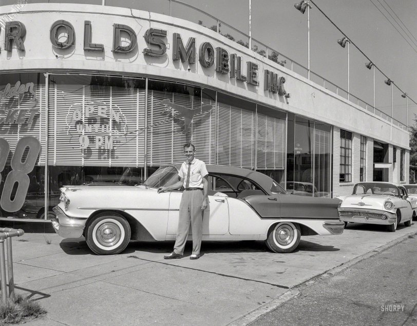 Golden Rocket 1957 Shorpy Historical Photos