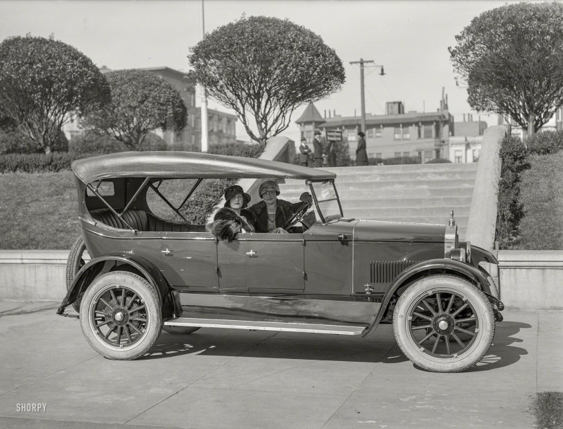 The Barley Car: 1923