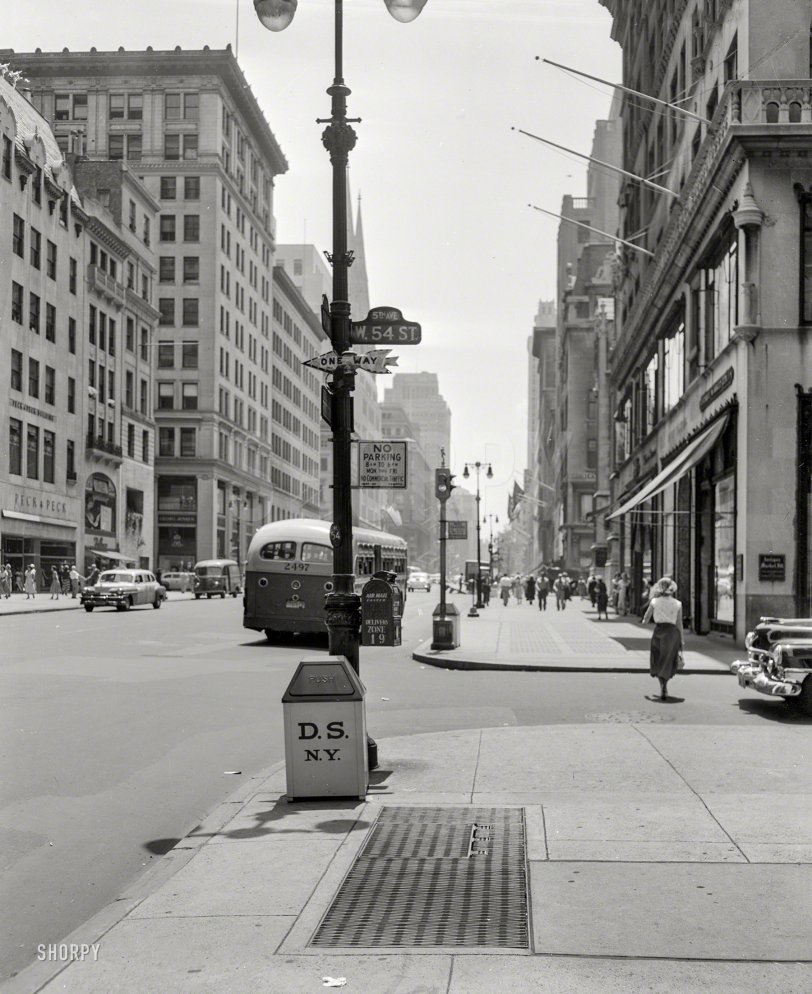 Fifth at 54th: 1953