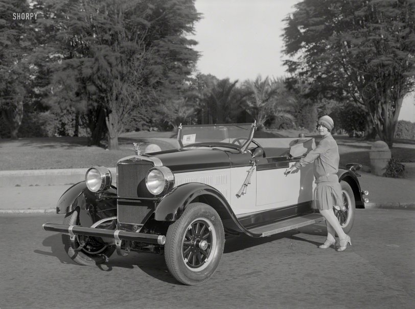 Fully Equipped: 1927