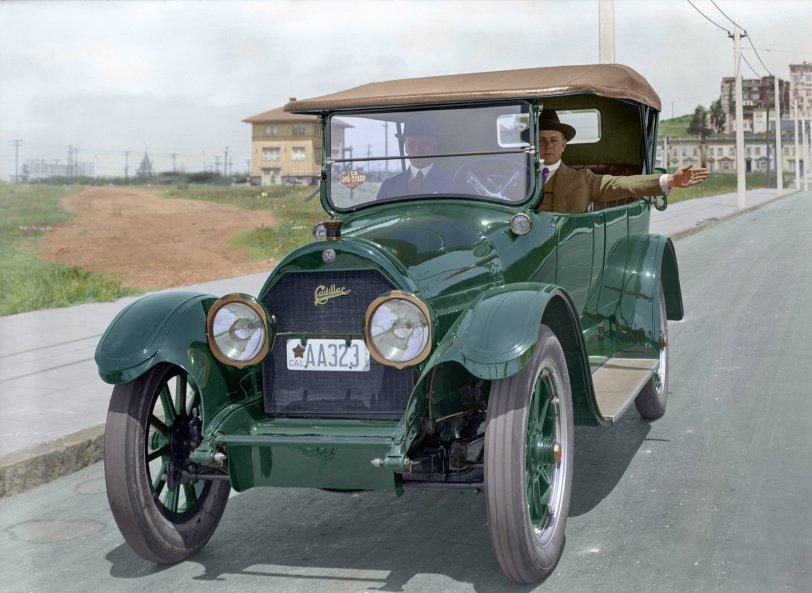Leftward Ho (Colorized): 1919