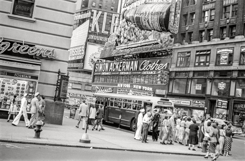 Omnibus Stop: 1951