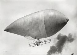 Aerial Rowboat: 1910s