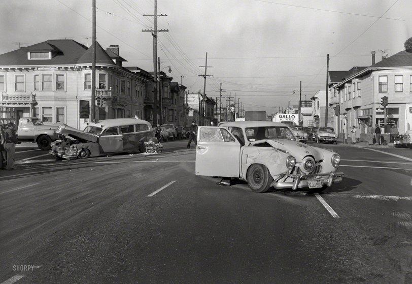 Dangerous Intersection: 1957