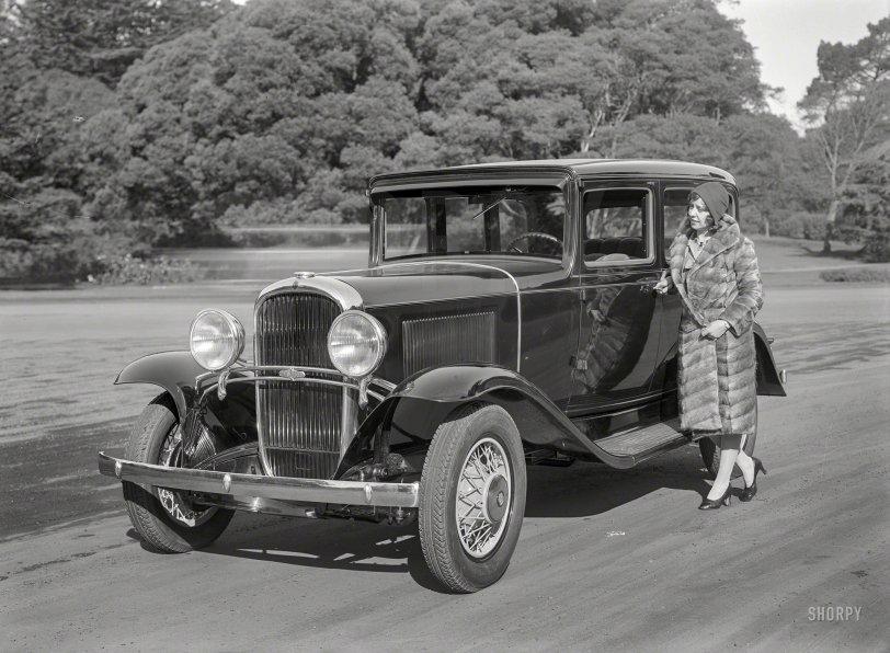 My Furry Oldsmobile: 1931