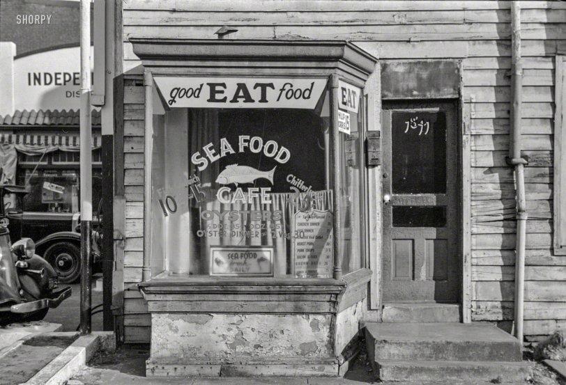 Good EAT Food: 1938