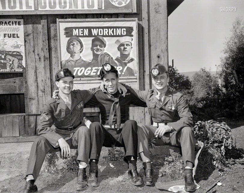 Men Smoking Together: 1942