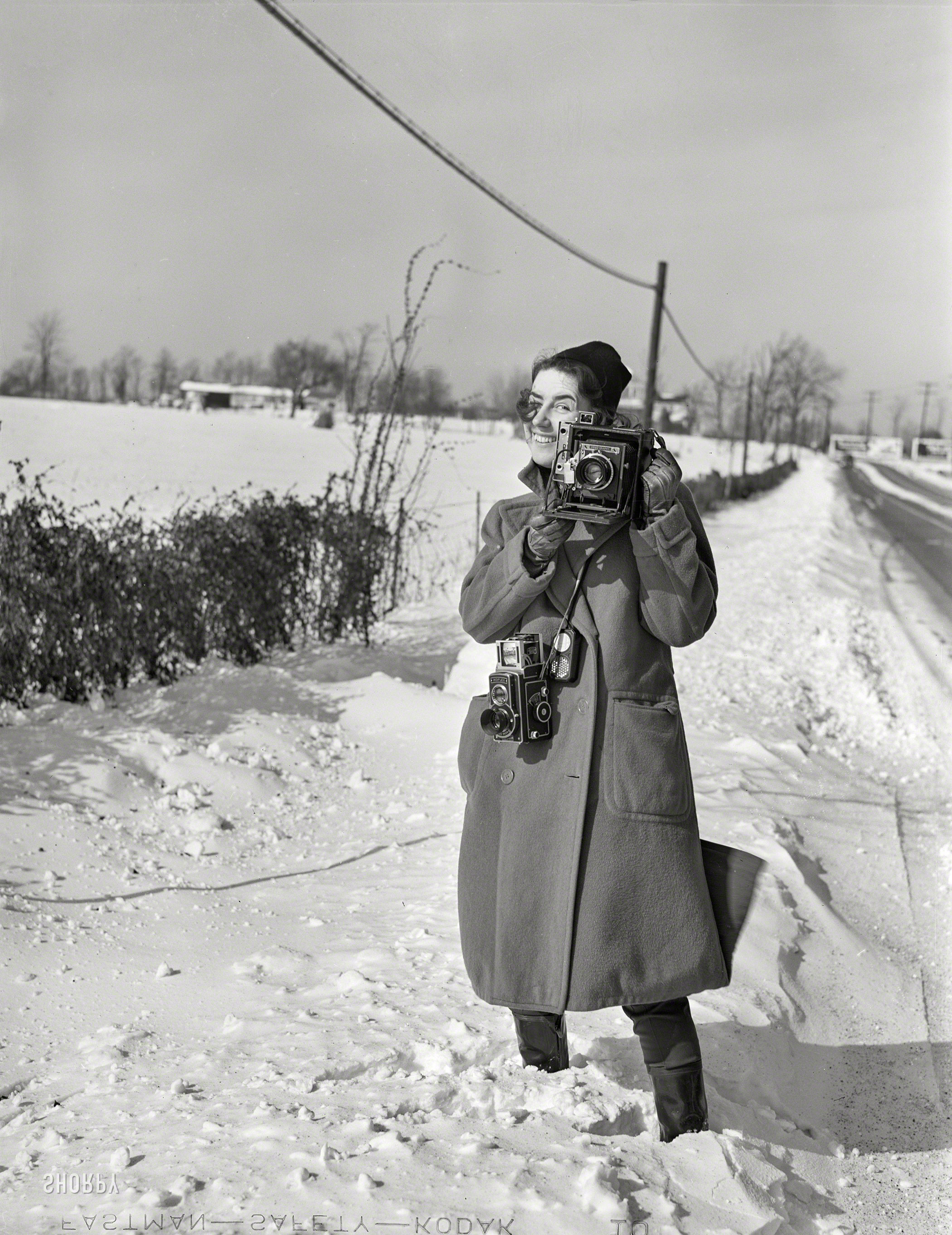 Shorpy Historic Picture Archive :: Freeze Frame: 1940 high ...