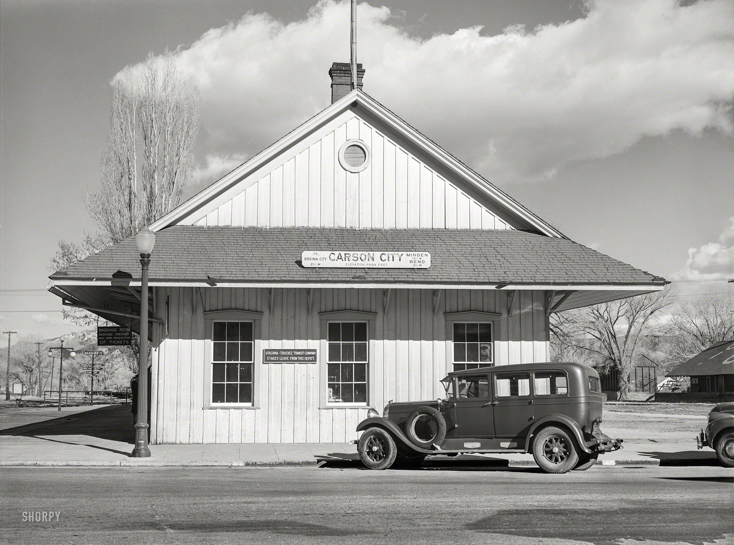 Shorpy Historic Picture Archive C C Depot 1940 High Resolution