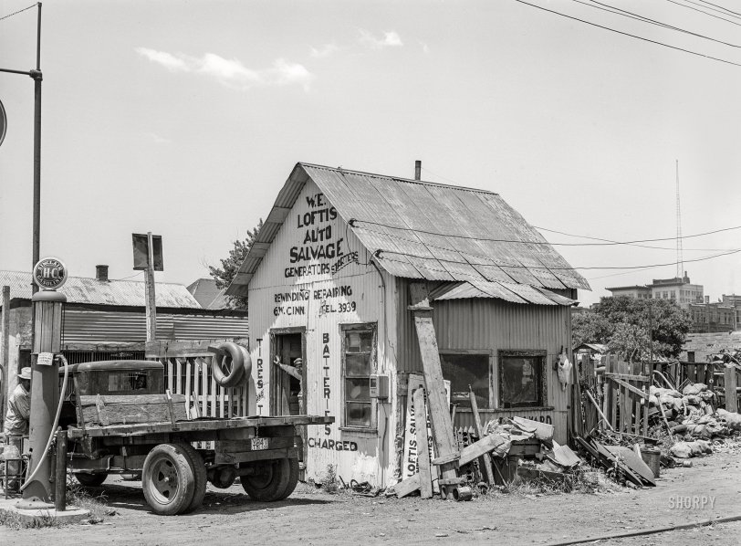 Loftis Salvage: 1939