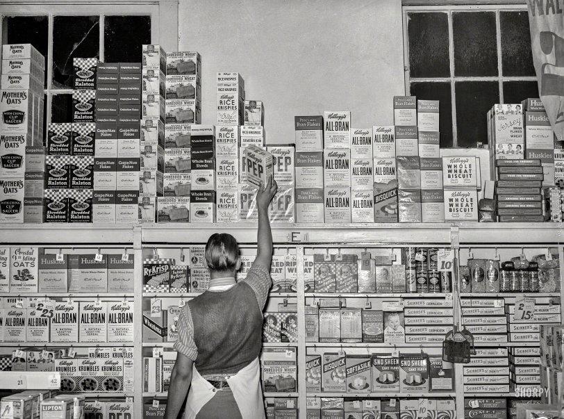 Cereal Stocker: 1939