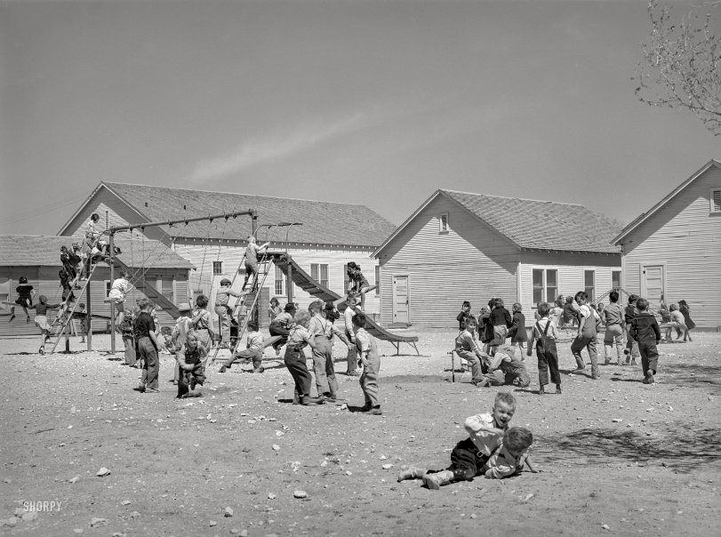 Kids at Play: 1940