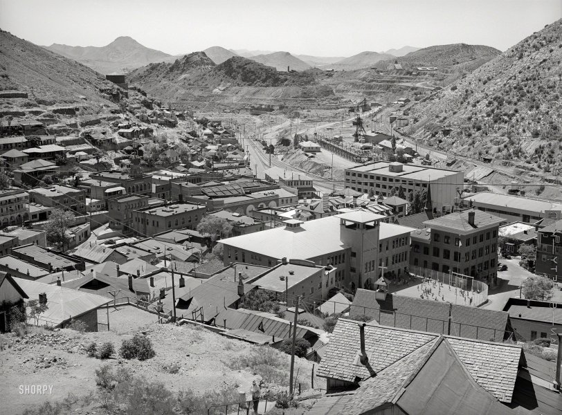 Bisbee From Above: 1940