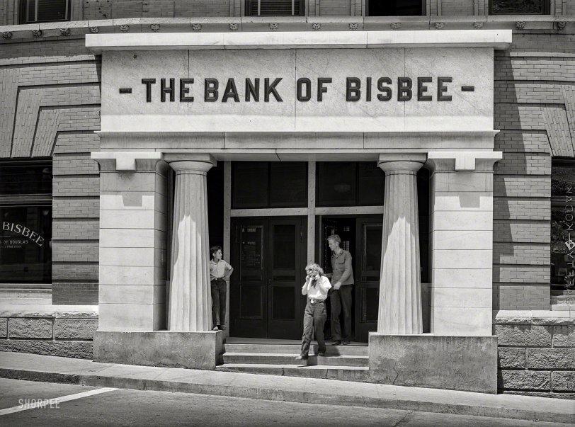 Bank of Bisbee: 1940