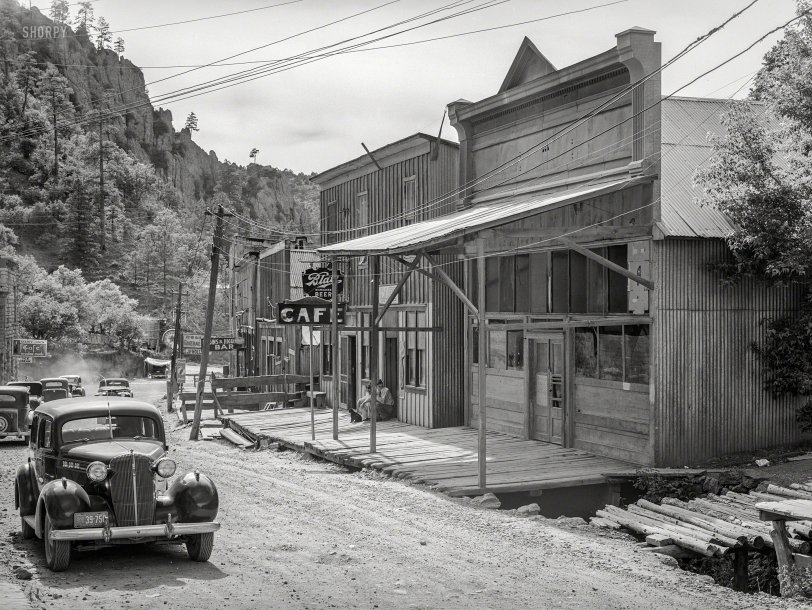 Mogollon, N.M.: 1940